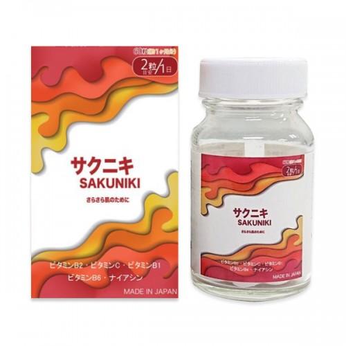 사쿠니키 (60정) - 일본연예인 피부비타민