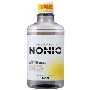NONIO 구강청결제 - 무알콜 라이트 허브민트 [ 600ml ]