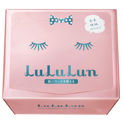 루루룬 페이스 마스크 핑크 36매