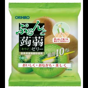 일본 오리히로 곤약젤리 키위 1봉지 (6개입)