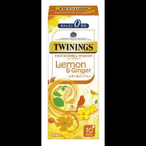 트와이닝 레몬&진저 (10개입)