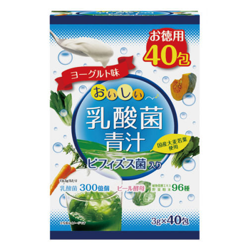 비피더스 유산균 녹즙 요구르트맛 120g (3gx40포)