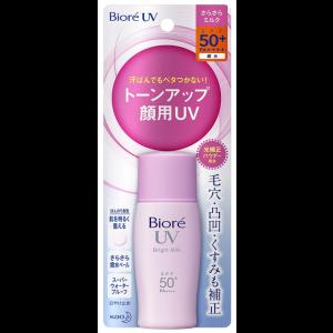 비오레 UV 밝은 밀크 선크림 SPF50 + / PA ++++ 30ml