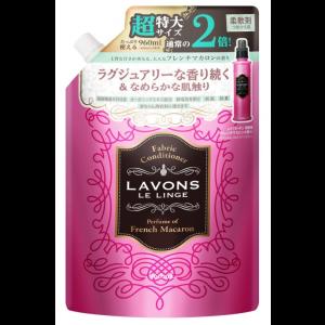 라본 섬유유연제 대용량 프렌치 마카롱의 향기 리필 960ml