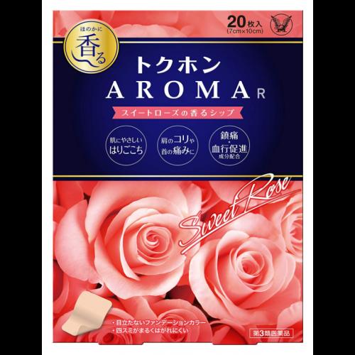 도쿠혼 아로마 스위트 로즈의 향기20매