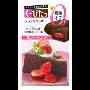 구피타 촉촉 쿠키 딸기 갸토쇼콜라 (3개)