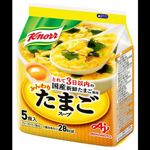 아지노모토 쿠노르 부드러운 계란 스프 1봉지 (5개입)