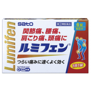 사토제약 루미휀 6정