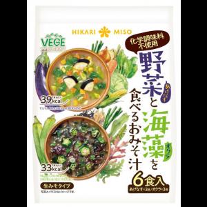 히카리미소 야채와 해초를 넣은 된장국 1봉 (6개입)