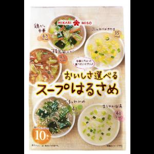 히카리미소 5가지 다양한 맛 스프 1봉지 (10개입)
