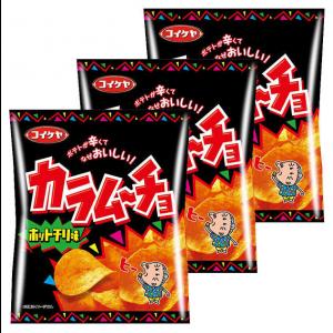 코이케야 스파무초 감자칩 핫칠리맛 (3개 세트)