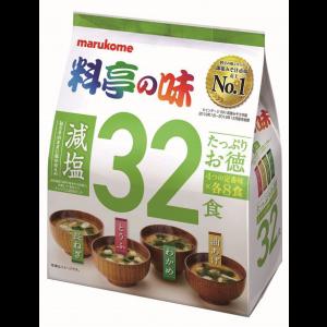 마루코메 듬뿍 된장국 저염 1봉지 (32개입)