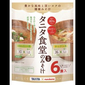 마루코메 타니타식당 저염 된장국 1봉지 (6개입)
