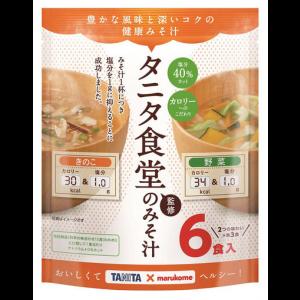 마루코메 타니타식당 야채,버섯 된장국 1봉지 (6개입)