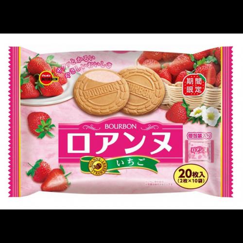 부르봉 로안느 딸기맛 샌드 1봉지 (2개입X10개)