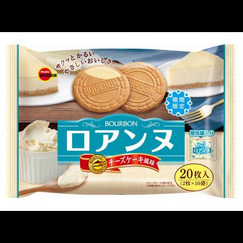 부르봉 로안느 치즈케이크 샌드 1봉지 (2개입X10개)
