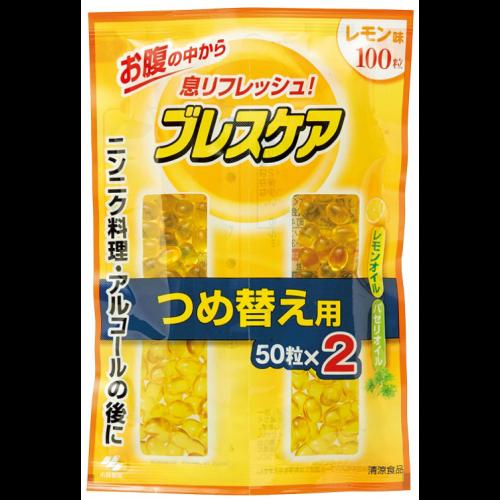 고바야시제약 브레스케어 레몬 리필용 100정 (50정×2봉지)