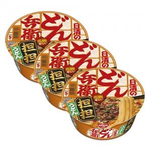 닛신 청일 돼지고기 탄탄우동 3개 세트