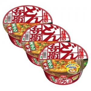 닛신 청일 튀김소바 (서일본) 3개 세트