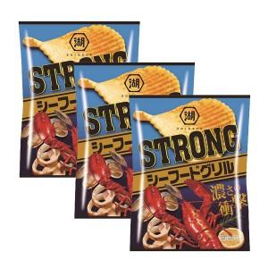 코이케야 스트롱 감자칩 - 씨푸드 (3개세트)