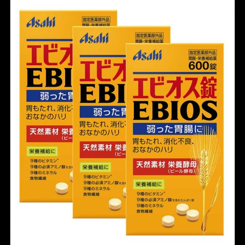 에비오스(EBIOS) 600정 (3개 세트)