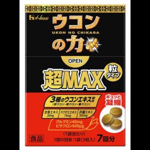 우콘의 넘치는 힘 MAX 정제 1상자 (7회분)