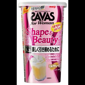 메이지 자바스(SAVAS) for Woman모양&뷰티 밀크티 [12인분] 252g