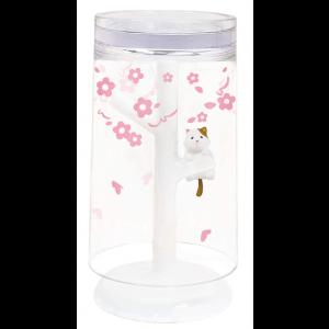 고양이 디자인 소품 양치질 컵&스탠드