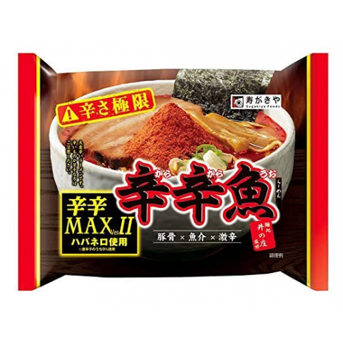 스가키야 매운맛 곱하기 매운맛 MAX버전 134g (10개 세트)