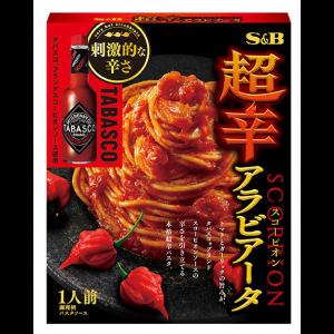 S&B식품 강력한 매운맛 아라비타 소스 132g