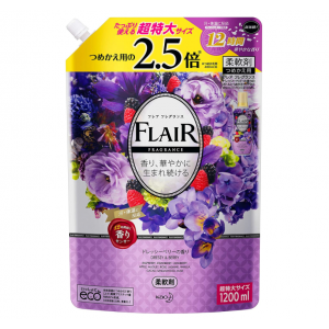 [대용량] 플레어 향수 섬유유연제 라즈베리&딸기 향기 1200ml