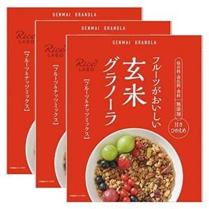 행복미곡 현미 그래놀라 과일&너트 250g (3개 세트)