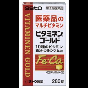 사토제약 비타민 골드 280정