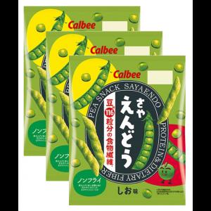 칼비 완두콩 스낵 소금맛 67g (3개 세트)